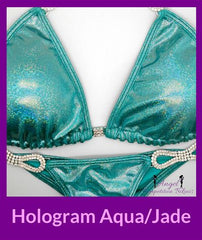 11 Hologram Jade competition suit npc bikini competition