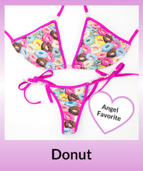 Angel Competition Bikinis Donut Angel Favorite