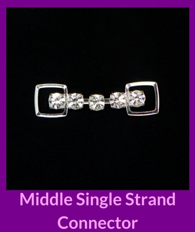 Middle Single Strand Connector Angel Competition Bikinis