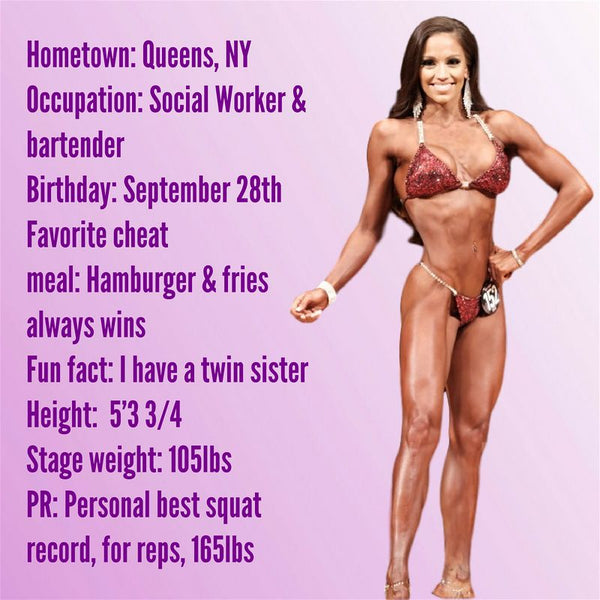 Angel Competition Bikinis Sponsored Athlete Alexandra Sanchez