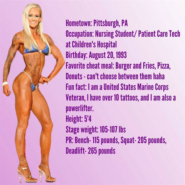 Angel Competition Bikinis Sponsored Athlete Caitlin Foresman