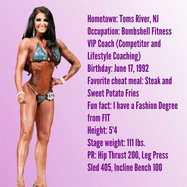 Angel Competition Bikinis Sponsored Athlete Jessica Dolias