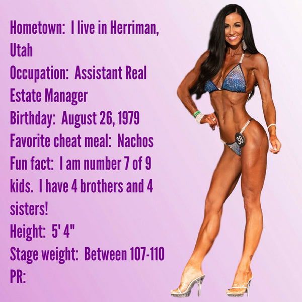 Angel Competition Bikinis Sponsored Athlete Kerryne Henich IFBB Pro
