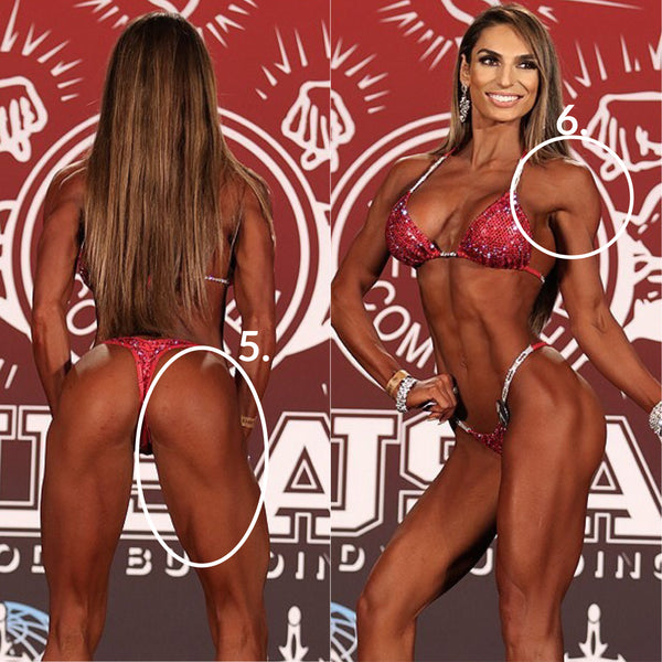 Angel Competition Bikinis what the npc judges want to see npc ifbb pro bikini suit and figure suit