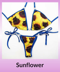 Angel Competition Bikinis Sunflower