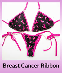 Angel Competition Bikinis Breast Cancer