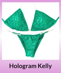 Angel Competition Bikinis Hologram Kelly