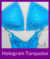 23 hologram turquoise competition suit for npc figure division