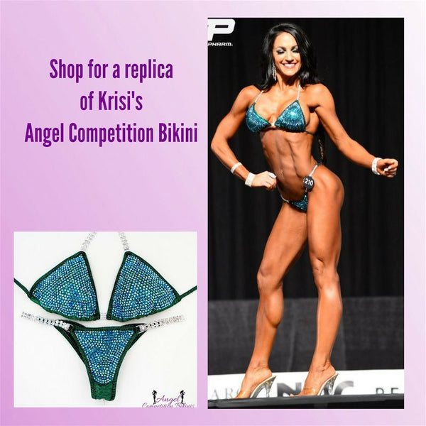 Angel Competition Bikinis Krisi Fenner Diamond Pro Lucky Suit