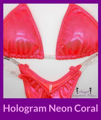4 Hologram coral competition suit for npc competition
