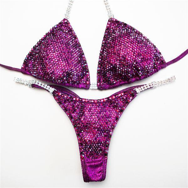 Angel Competition Bikinis Angel Pro Multi Color Brooklyn Hillenbrand