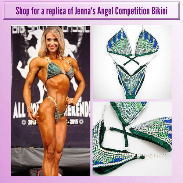 Angel Competition Bikinis Jenna Fail Figure Suit NPC