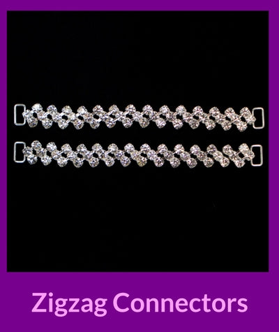 Zigzag Connectors Angel Competition Bikinis