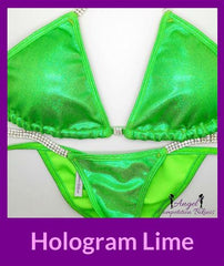 9 hologram lime figure suit for NANBF Figure division