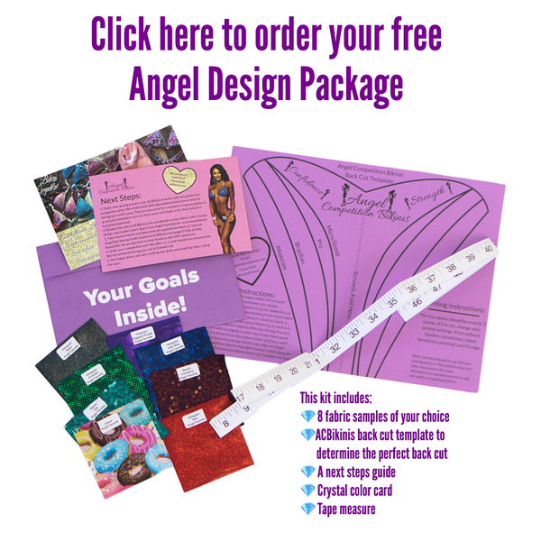 Angel Competition Bikinis Free Angel Design Package Free Samples