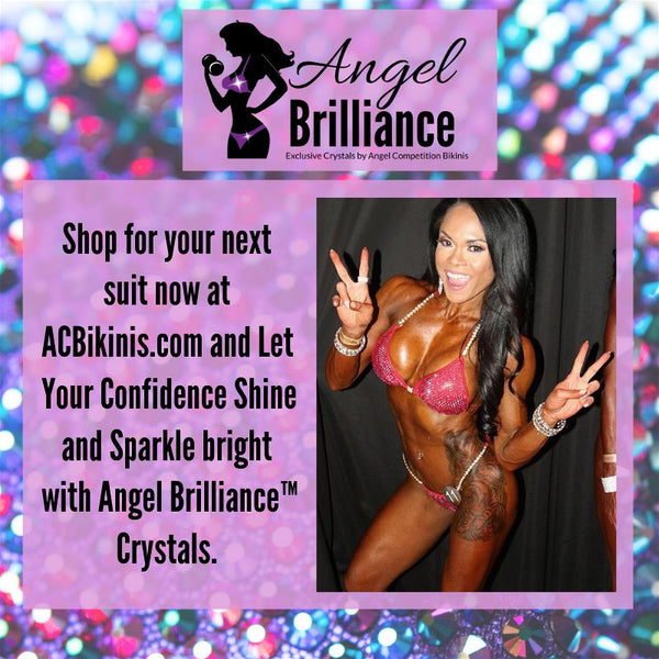 Angel Brilliance™ Exclusive Crystals by Angel Competition Bikinis