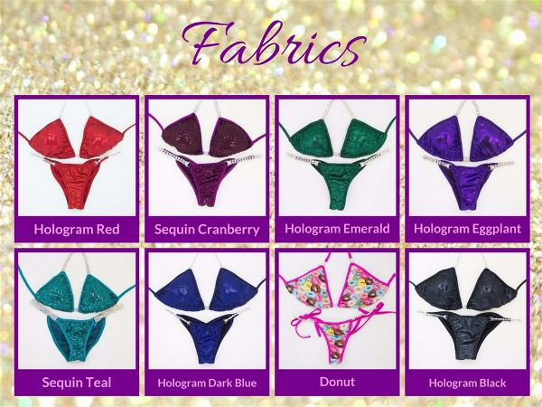 Angel Competition Bikinis Favorite competition suits fabric