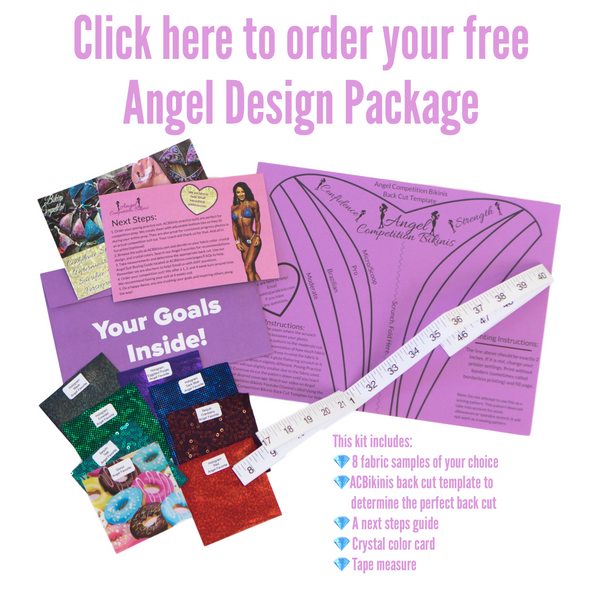 Angel Competition Bikinis Angel Design Package Free Samples