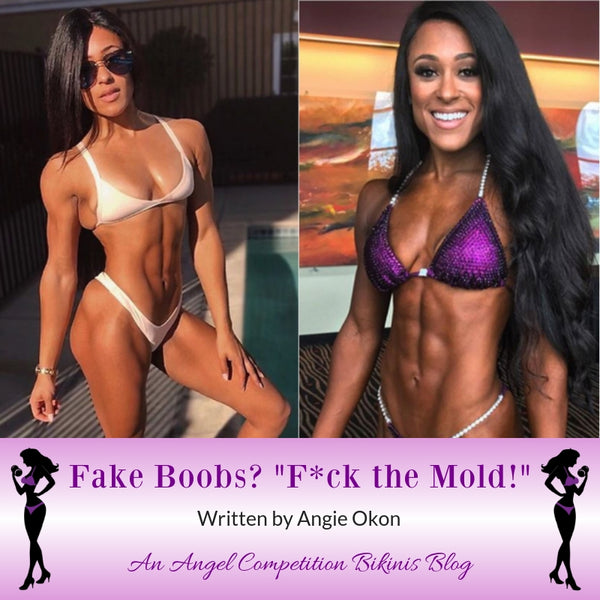Angel Competition Bikinis Sponsored Athlete Angie Okon Fuck the Mold