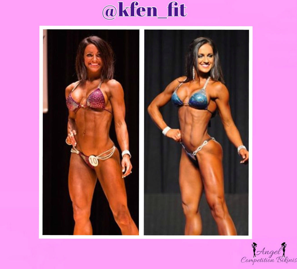 Bikini competition transformation