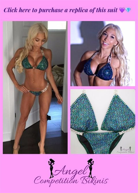 Cath Bastien Angel Competition Bikinis