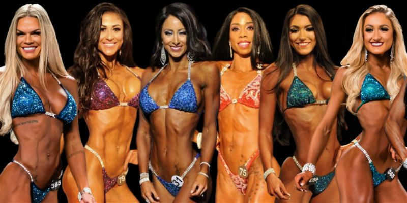 Angel Competition Bikinis sponsored athlete suits