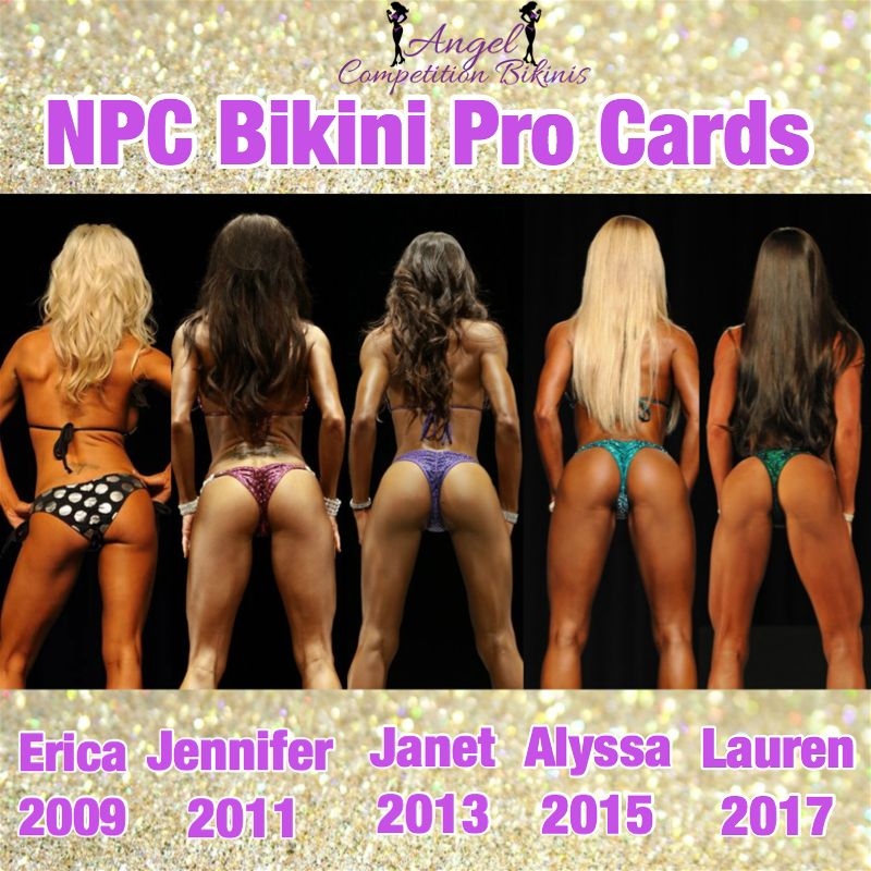 NPC Figure Division Suits for NPC Figure Competition