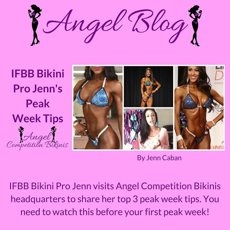 IFBB Bikini Pro Jenn Peak week tips
