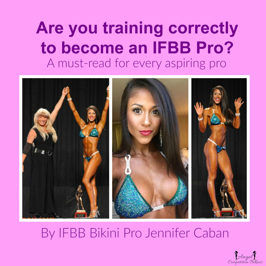How to become and IFBB Bikini pro