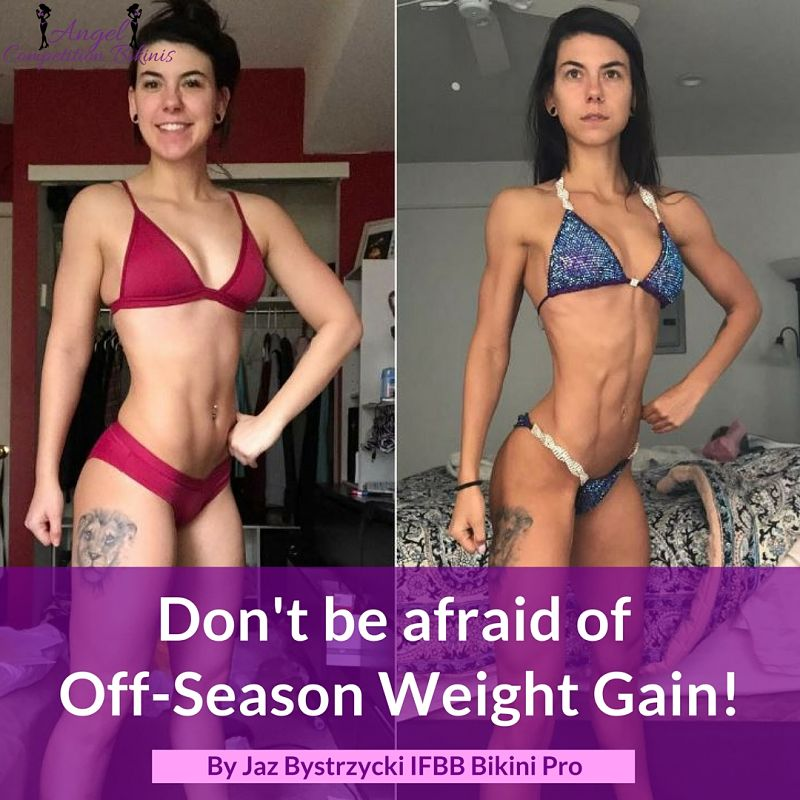 Off-Season Weight gain IFBB Bikini Pro JAz