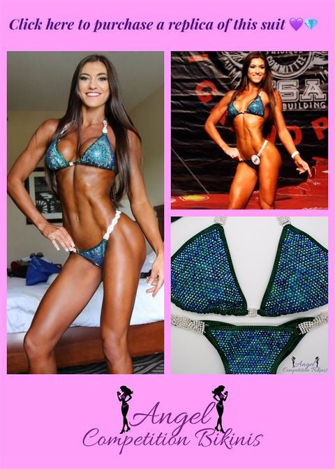 How to Build your glutes and win npc overall champion by lauren dannenmiller