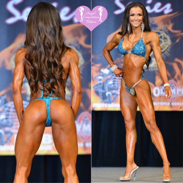 Angel Competition Bikinis Natalie Matthews Fit Vegan Chef IFBB NPC Suit Bikini and Figure Suits