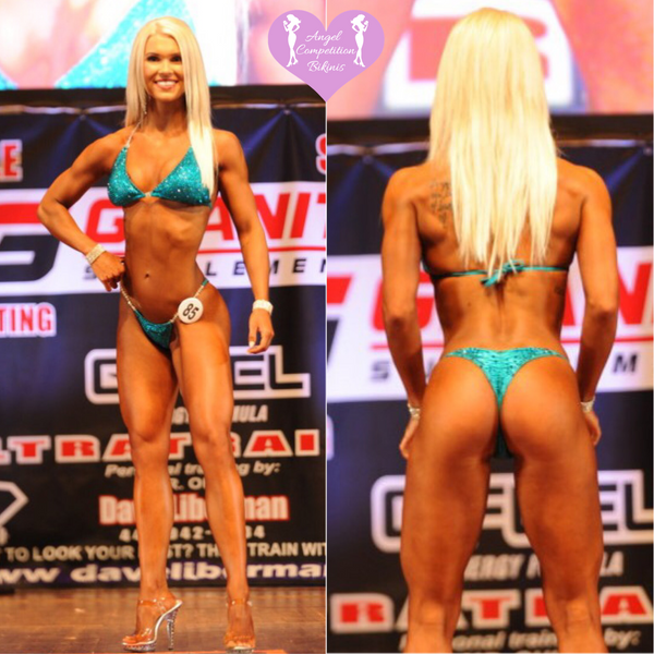 Angel Competition Bikinis Brooke Bauman NPC Bikini Suit and IFBB Figure Suits