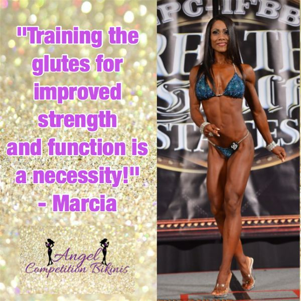 Marcia Goncalves Glute Blog Angel Competition Bikinis
