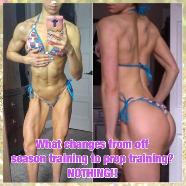 Nadia Chiaramonte How to stay lean in the off season
