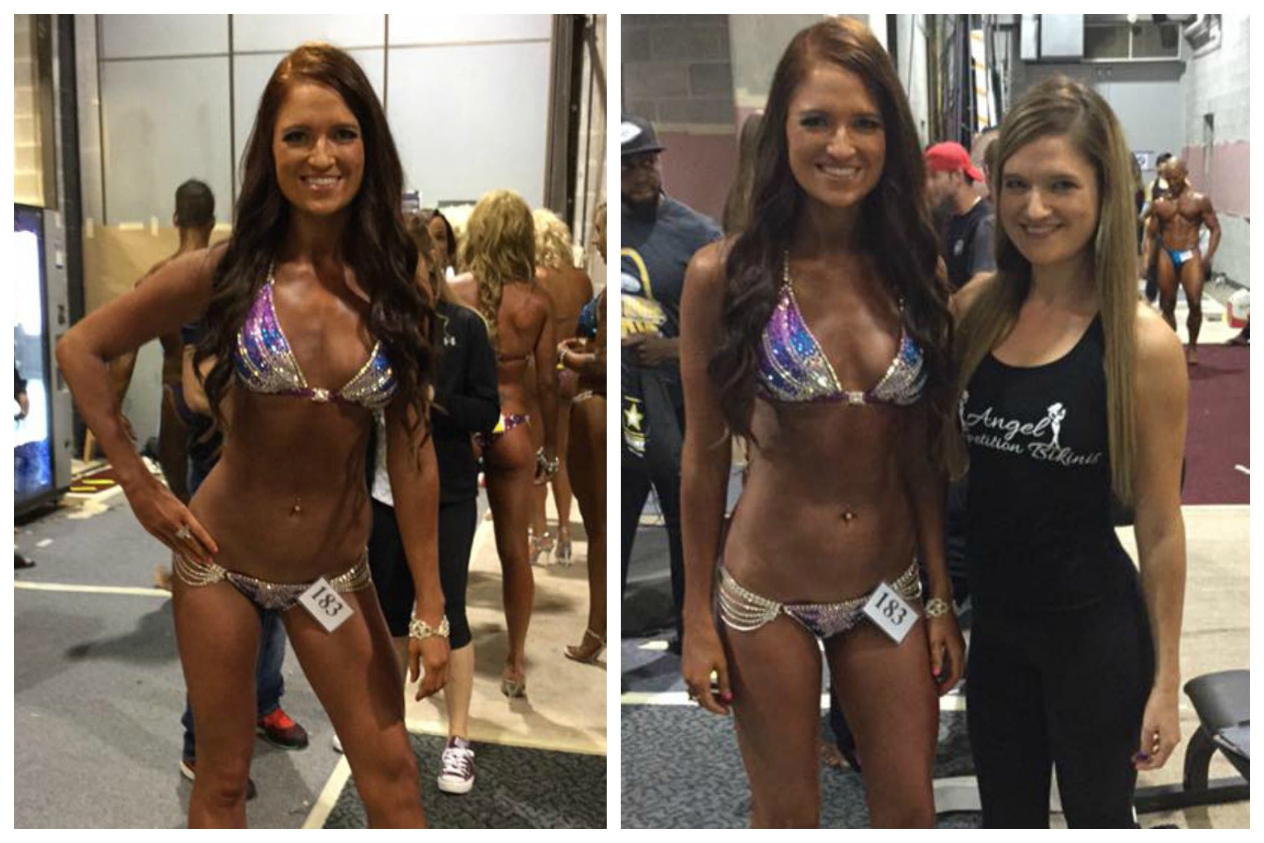 Angel Competition Bikinis and Competition Figure suits