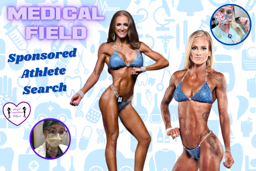 medical field sponsored athlete search