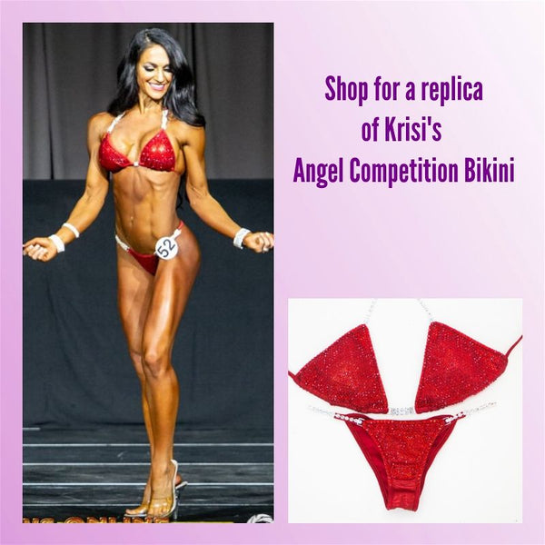 Angel Competition Bikinis Sponsored Athlete Krisi Fenner