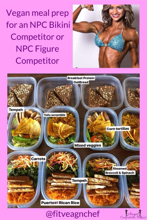 Vegan diet for NPC Bikini competitor, vegan diet for npc figure competitor