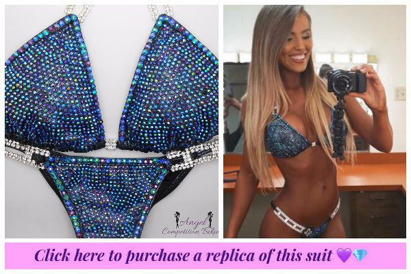 brittany lesser competition bikini from angel competition bikinis