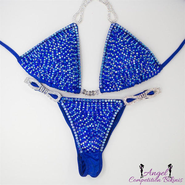 Angel Competition Bikinis Venus Hologram Electric Blue Caitlin Foresman