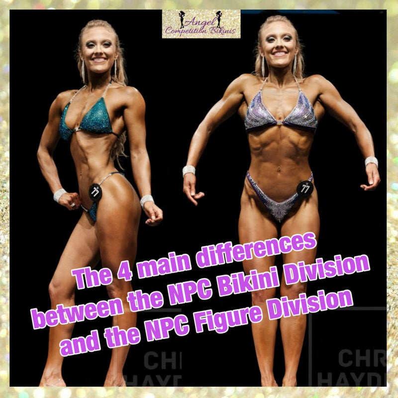 Difference between NPC Figure Division and NPC Bikini Division Competition Suits