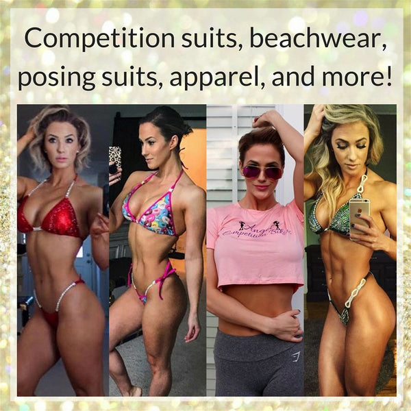 Angel Competition Bikinis sponsored athletes