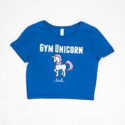 Gym Unicorn Crop