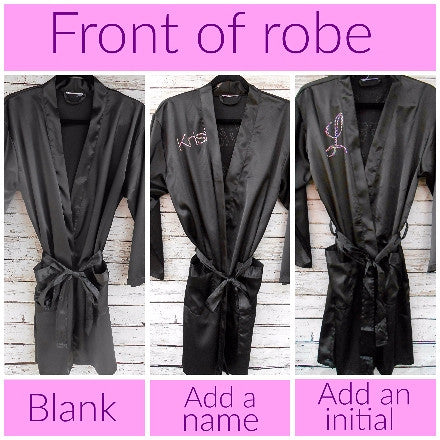 Personalized Name Robe