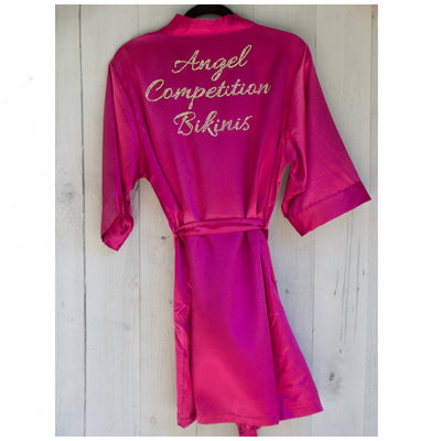 Limited Edition Angel Competition Bikinis Robe