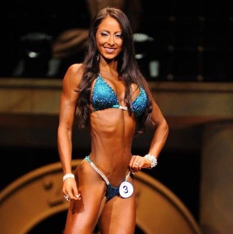 IFBB Casey Samsel physique competition figure show angel competition bikinis suits crystals crystallized pro brazilian