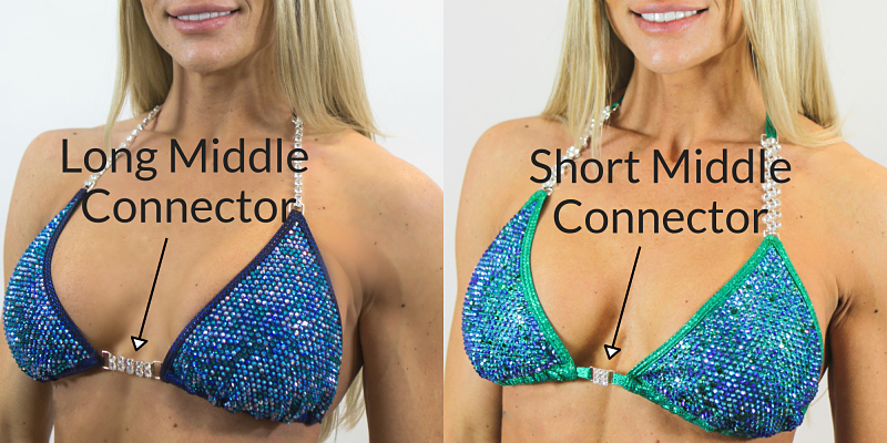 Competition Bikini Top Size for NPC, IFBB competition suits, competition wellness top size