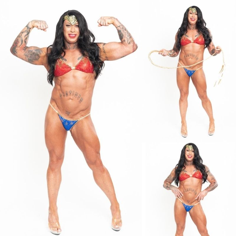 Casey Samsel Angel Competition Bikinis Sponsored Athlete How to become a sponsored athlete for npc bikini competitions