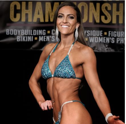 Hologram Emerald Competition Figure suit by Angel Competition Bikinis for NPC Bikini, NPC Wellness, NPC Figure